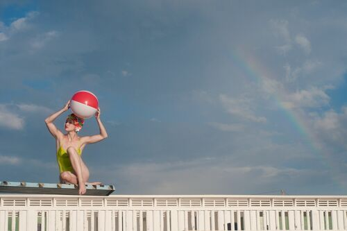OVER THE RAINBOW II - CRISTINA CORAL - Kunstfoto