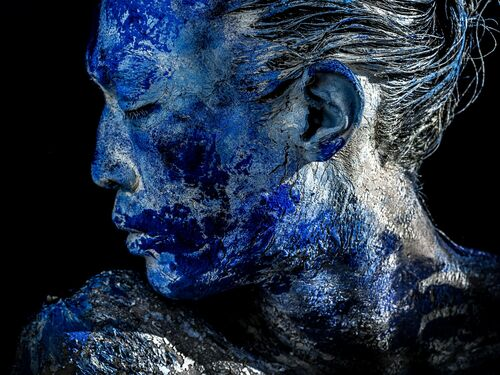 BLUE - DAMIEN DUFRESNE - Kunstfoto