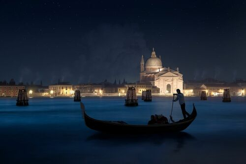 CHRISTMAS NIGHT IN VENICE - DANIEL METZ - Fotografia