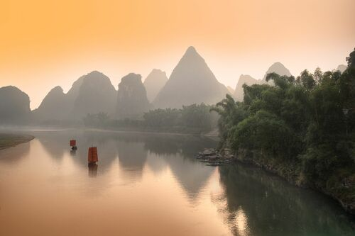 Last Travel on Li River - DANIEL METZ - Fotografia