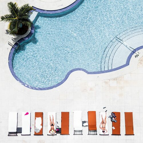 POOL 2 - DAVID BEHAR - Photograph