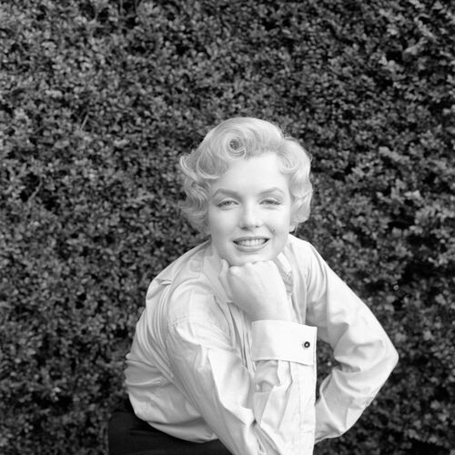 MILTON H GREENE MARILYN MONROE -  DE LA FUENTE COLLECTION - Fotografie