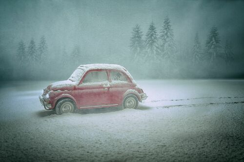 THE LOVE CAR - FELIX HERNANDEZ DREAMOGRAPHY - Photograph
