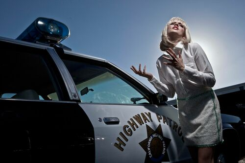 Kojak with a Kodak Good Buddy