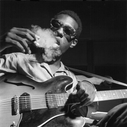 Grant Green - FRANCIS WOLFF - Photographie
