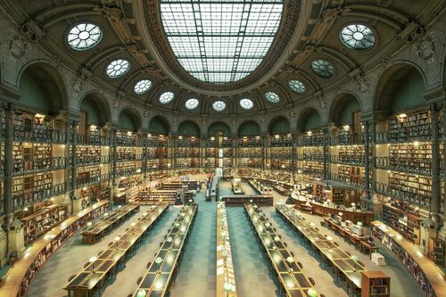 BIBLIOTHÈQUE NATIONALE DE FRANCE - FRANCK BOHBOT STUDIO - Photograph
