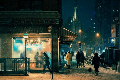 Black night - FRANCK BOHBOT STUDIO - Kunstfoto