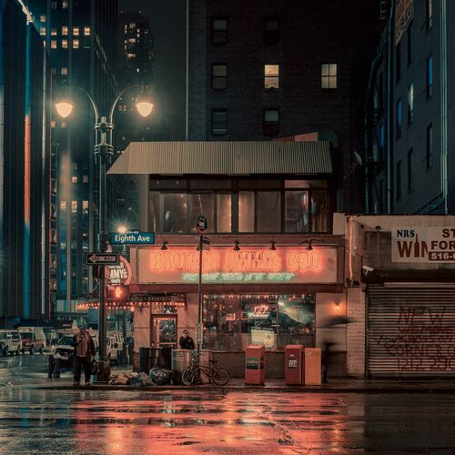 The Brother's Jimmy's BBQ II, NYC - FRANCK BOHBOT STUDIO - Fotografia