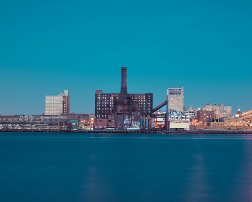 The domino sugar factory Brooklyn - FRANCK BOHBOT STUDIO - Photographie