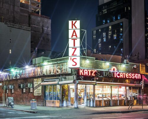 Katz's Delicatessen,  NYC