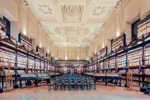 THE BIBLIOTECA VALLICELLIANA ROMA - FRANCK BOHBOT STUDIO - Photograph