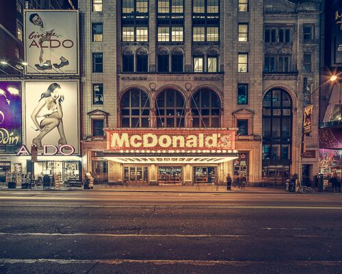 The McDonald's times square NY