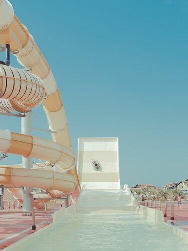 YELLOW TUBE - FRANCK BOHBOT STUDIO - Photograph