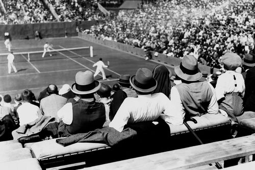 1ST INTERNATIONAL FRENCH OPEN 1928 -  GAMMA AGENCY - Fotografia