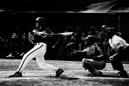 BASEBALL MATCH -  GAMMA AGENCY - Photograph