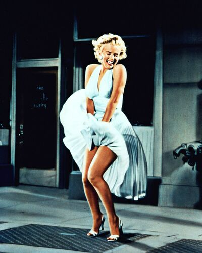 THE SEVEN YEARS ITCH , MARYLIN MONROE -  GAMMA AGENCY - Photographie