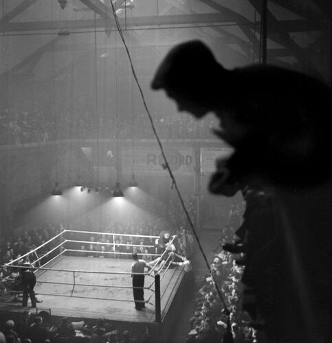 Match de boxe - GASTON PARIS - Kunstfoto
