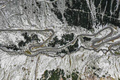 TRANSFAGARASAN HIGHWAY - GEORGE BUFAN - Photograph