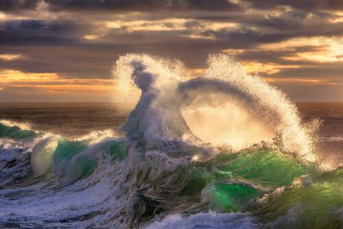 ROUGH SEA 23 - GIOVANNI ALLIEVI - Photographie