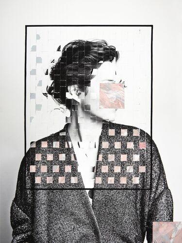 LES PETITS CARRES -  GUERIN X K - Kunstfoto