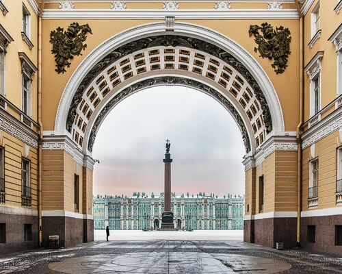 PALACE SQUARE - GUILLAUME DUTREIX - Photograph