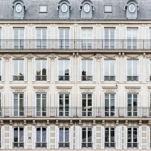 THOSE PARISIAN SQUARES - GUILLAUME DUTREIX - Photograph