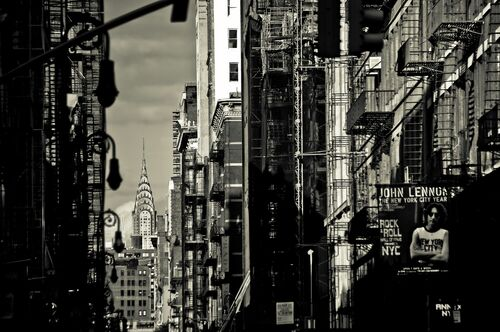 Chrysler in Soho - GUILLAUME GAUDET - Photograph
