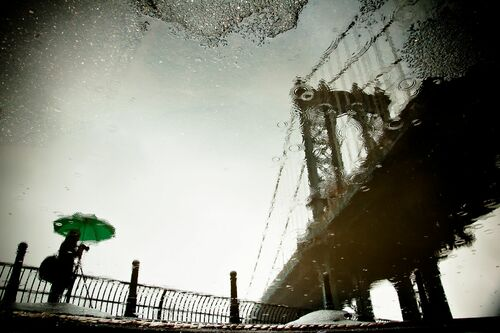 The Photographer and the Bridge - GUILLAUME GAUDET - Fotografie