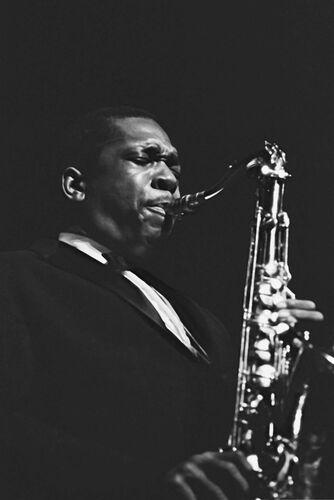 John Coltrane, 1961 - HERVE GLOAGUEN - Fotografía
