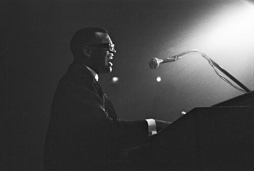 Ray Charles, Paris 1961