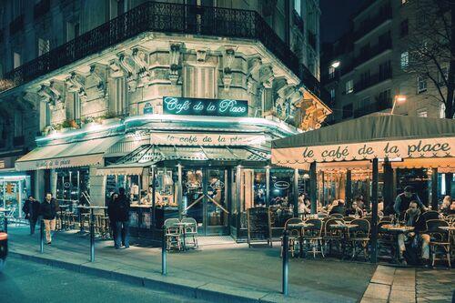 Le café de la place Montparnasse -  JACK AND LUNA - Fotografie