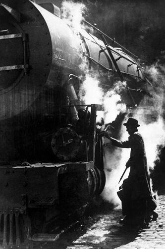 Construction de locomotive 1946 - JACQUES BOYER - Photograph