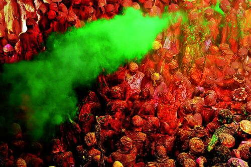 Colors of Holi - JAGJIT SINGH - Photograph