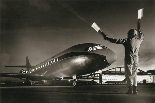 Caravelle, atterrissage de nuit 1964