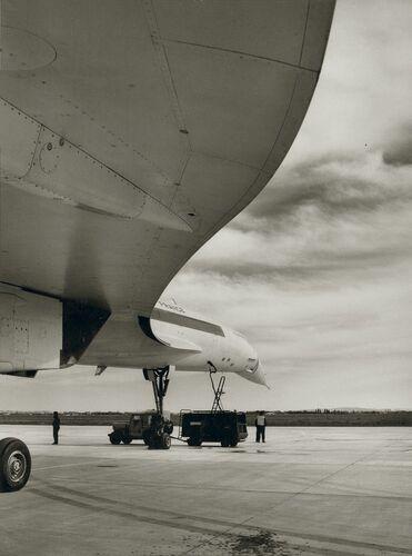 Voilure du Concorde 1968