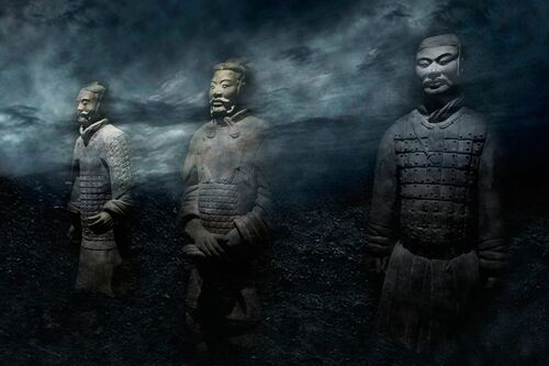 TERRACOTTA WARRIORS - JEFF KWOK - Photograph