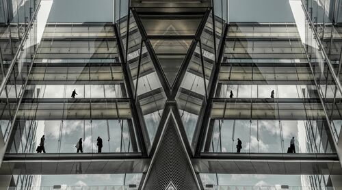 FUTURE OFFICE CITIES - JESUS CHAMIZO - Photograph