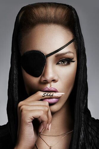 RIHANNA 001 - JOHN WRIGHT - Photographie