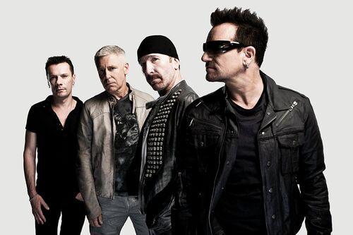 U2, backstage in Montreal - JOHN WRIGHT - Fotografie
