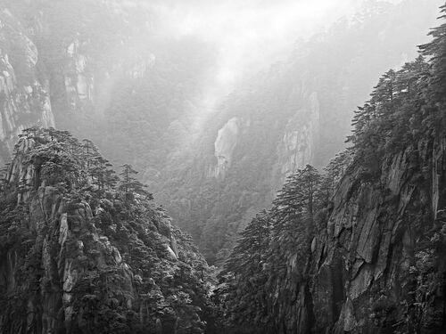 HUANGSHAN XII - JON WYATT - Photographie