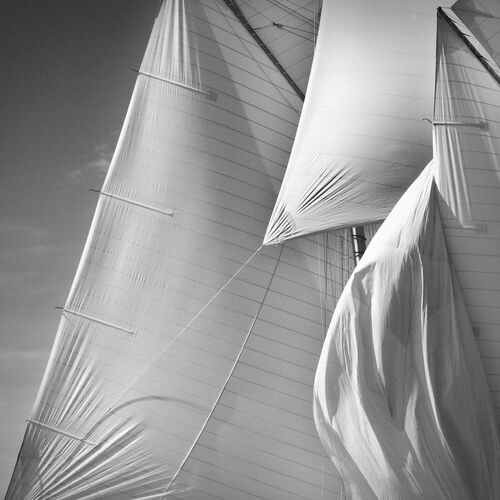 Sails of the Mariette study 5 - JONATHAN CHRITCHLEY - Fotografia
