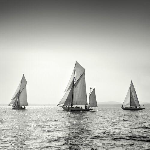 Yachts, Saint-Tropez - JONATHAN CHRITCHLEY - Kunstfoto