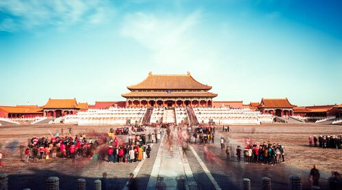FORBIDDEN CITY I - Jörg DICKMANN - Photograph