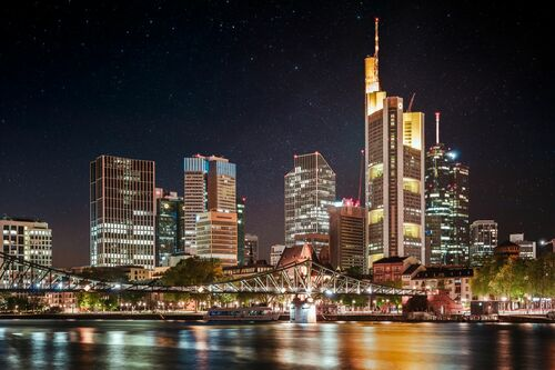FRANKFURT NIGHT - Jörg DICKMANN - Photographie