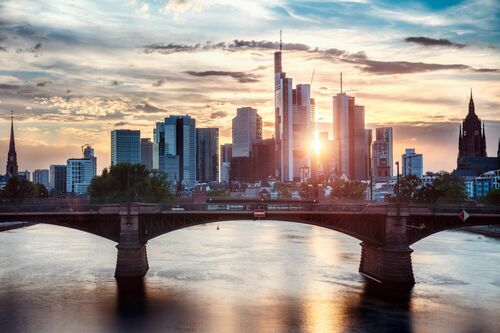 FRANKFURT SUNSET