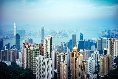 HONG KONG CITYSCAPE I - Jörg DICKMANN - Kunstfoto
