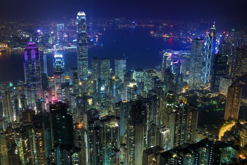 Hong Kong II - Jörg DICKMANN - Kunstfoto