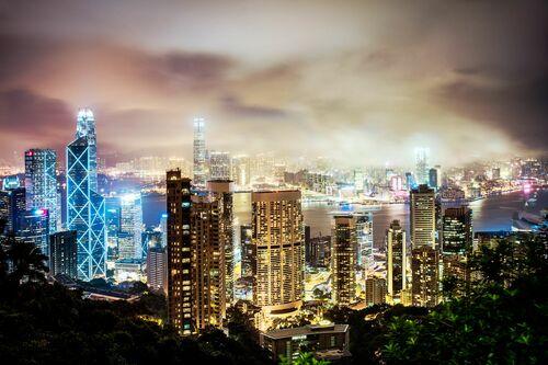 HONG KONG NIGHT I - Jörg DICKMANN - Fotografia