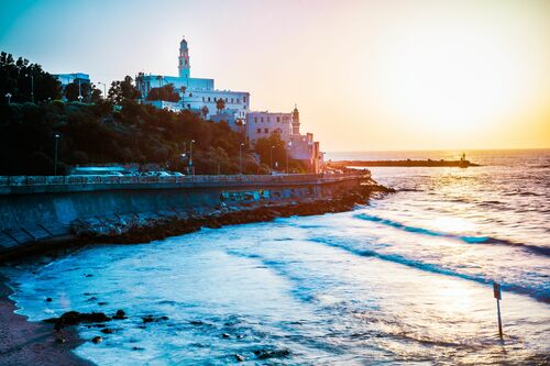 JAFFA SUNSET - Jörg DICKMANN - Photograph