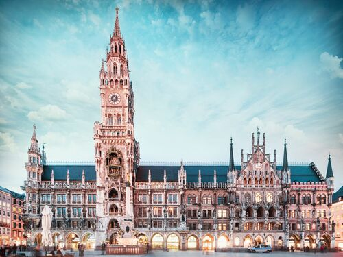 MUNICH TOWN HALL - Jörg DICKMANN - Photograph